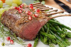 Αρνίσια παϊδάκια με ρόδι και κυδώνι - gourmed.gr