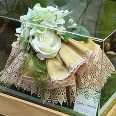 Wishing a rustic wedding? Complete your special momment with us! No more doubt, text us now! Courtesy: Hantaran Nina and Nurdin… Fabric Boxes Tutorial, Ganesha, Rustic Wedding, Wedding Gifts, Flower Girl Dresses, Hampers, Ethnic Recipes, Instagram Posts, Tray