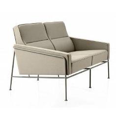 Arne Jacobsen Series 3300 Two-Seater  Sofa.