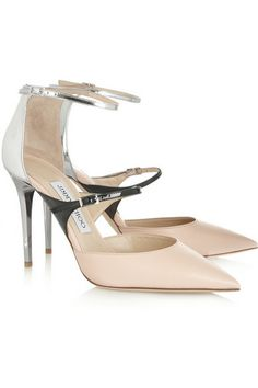 JIMMY CHOO Typhoon leather pumps