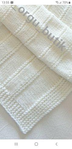 Kids Knitting Patterns, Easy Knitting Projects, Baby Knitting Patterns, Knitting Designs, Knitting Yarn, Crochet Patterns, Blog Bebe, Crochet Baby Blanket Free Pattern, Knitted Baby Blankets