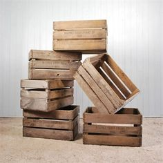 1000 images about old apple crates on pinterest apple for How to make apple crates