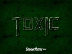 GraphicRiders | Action style – Toxic (free photoshop style)