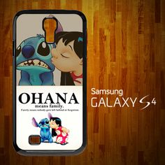 B1328 Lilo and stitch Ohana Speak Samsung Galaxy S4 Case | statusisasi - Accessories on ArtFire