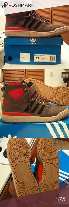 online store 73667 c8c0a SIZE 13 ADIDAS FORUM HIGH OG WITH ORIGINAL BOX SIZE 13 ADIDAS FORUM HIGH OG  WITH