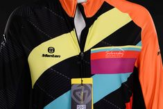 Sunflower- Women's Cycle Jersey A women's winter cycling jersey that will bring some warmth and glow to the dulls of winter. Here at Silversky we don't do dull and The Sunflower encompasses everything we strive for in a jersey. Warm thermal fleece on the inside that is soft and stretchy, 3M reflective strip under the back pocket, long lasting sublimation colour impregnation, strong jersey grippers on the bottom, and zipper cover tape to protect your assets...you'll be the envy of your… Mountain Bike Clothing, Thermal Base Layer, Winter Cycling, Thermal Long Sleeve, Cycling Jerseys, Cycling Outfit, High Collar, Envy, Tape