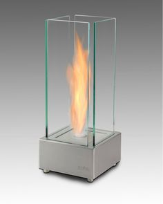 Cartier Tabletop Bio Ethanol Fireplace by Eco-Feu | CleanFlames.com | Tabletop Bio Ethanol Fireplaces