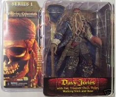 NECA Pirates of the Caribbean Dead Man's Chest Series 1 Action Figure Davy Jones Pirates of the Caribbean http://smile.amazon.com/dp/B000G3G2FI/ref=cm_sw_r_pi_dp_qzbPvb0FBV6NW