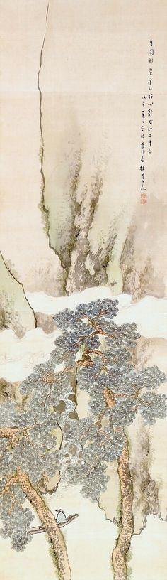 Landscape by Keigetsu Matsubayashi 松林桂月 (1876-1963).