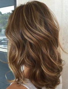 Best ideas about brown hair caramel highlights (38)