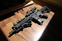 Beautiful HK416 this is a good CQB gun and the HK417 is a really good long rang gun def my gun of choice