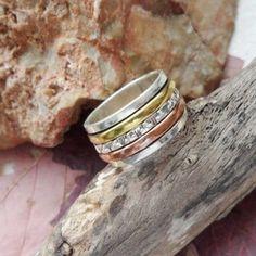 Bandring, Ring, Ø 18,0 - 18,75 - 19,5 mm, 925 Sterling Silber in Uhren & Schmuck, Echtschmuck, Ringe | eBay