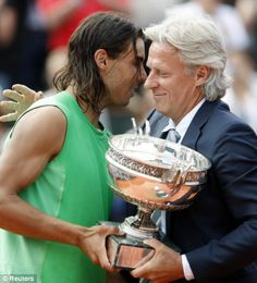 Nadal and Borg ~ French Open Kings