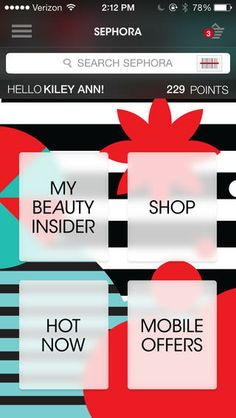 Capricorn pick: Sephora to Go App for iPhone #Sephora #zodiacbeauty