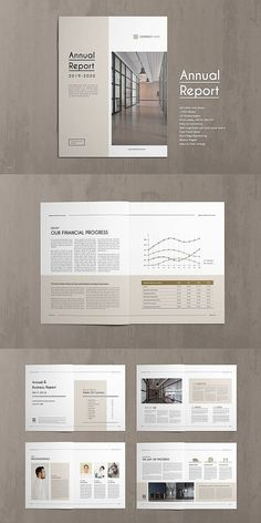 20 Page corporate style Annual Report Template. This annual report template is the best suitable choice to work with that provided an effective layout to Site Web Design, Page Layout Design, Graphisches Design, Cover Design, Design Ideas, Chart Design, Design Inspiration, Editorial Design, Editorial Layout