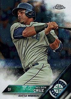 Nelson Cruz Seattle Mariners, Mlb, Baseball Cards, Sports, Hs Sports, Sport