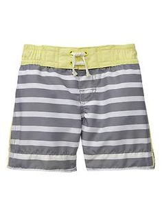 Striped swim trunks | Gap Little man needs these! @Alex Jones Leichtman Lyttaker