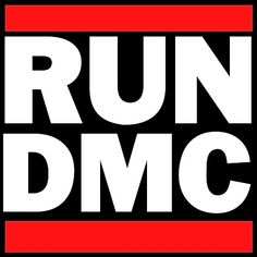 Best Band Logos of All Time 48. Run DMC