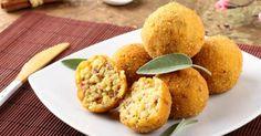 Recette de Boulettes panées cuites au four avec les restes de riz cuit et jambon. Facile et rapide à réaliser, goûteuse et diététique.