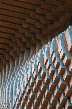 Surface Tile - Hooba Design Group #Office #Surfacetiles #Tiles #Design #Interiordesign #Modern