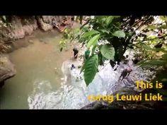 Visit Bogor Serunya cliff jump di Curug putri kencana - YouTube