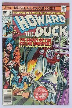 Marvel Comics Howard The Duck #6 1976 VFN Vintage Steve Gerber Gene Colan
