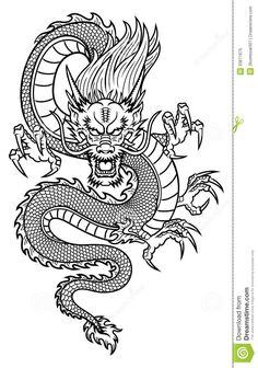 Chinese Dragon Royalty Free Stock Photo - Image: 33671675