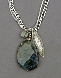 Mirinda Kossoff - labradorite with fine silver