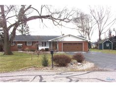 Wonderful Brick Ranch With 3 Bedrooms And 2 Full Baths, Open Kitchen/Dining With Fireplace, Updated Furnace, A/C, Water Heater, Roof, Duct Work, Garage Door, Softener, Large Yard With A Roomy Deck, 2-Car Garage With Back Storage Room/Shop, 2 Sheds. Move Right In! Set Your Appointment Up Today! in Bryan OH
