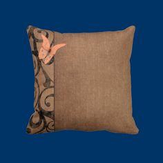 Antique Butterfly Throw Pillows
