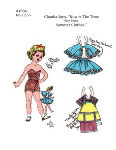 103a-Claudia.jpg (1275×1650) *** Paper dolls for Pinterest friends, 1500 free paper dolls at Arielle Gabriel's International Paper Doll Society, writer The Goddess of Mercy & The Dept of Miracles, publisher QuanYin5