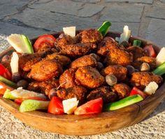 Ρεβυθοκεφτέδες Ίου   Συνταγή   Argiro.gr Tandoori Chicken, Meat, Ethnic Recipes, Food, Drink, Beverage, Eten, Drinking, Meals