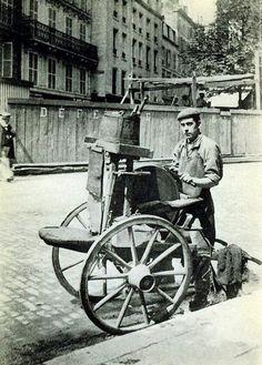 Paris - Ses Métiers Disparus - Le Rémouleur - Années 1900