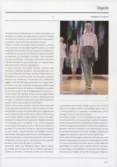 Gala UAD 2012 - Etiquette Magazine (June - August 2012) - 5/11
