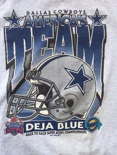 97ae84ded Vintage 1994 Dallas Cowboys Superbowl Tee   Vintage Tshirt   Tshirt   Soft  Vintage Tshirt