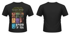 Camiseta Personajes - Star Wars