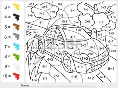 Coloring Math Activities for Middle School Best Of Grade Math Coloring Pages.Coloring Math Activities for Middle School Best Of Grade Math Coloring Pages – Redbirdcolor. Coloring Worksheets For Kindergarten, Addition And Subtraction Worksheets, Kindergarten Math Worksheets, Math Addition, Number Worksheets, Math Math, Teaching Math, Teaching Resources, Color Activities