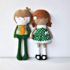 My Teeny-Tiny Doll™ Stuart and Danni by Cook You Some Noodles, via Flickr