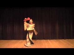 "【BadApple!!】 傷林果 【Japanese Traditional Dance】- A dance performed to an arrangement of a Japanese pop song (""Bad Apple!!"", originally from the Touhou Project), using traditional Japanese instruments and musical styles and with lyrics rewritten into classical Japanese. The dancer here, Kikunosuke Sawamura, is, in fact, a man: he is performing in the onnagata style, which is used for female roles in kabuki theatre (in which all actors must be male)."