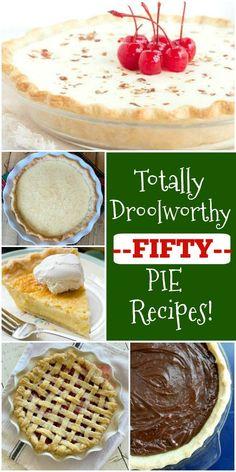 50 Best Pie Recipes #best #pie #recipes #favorite