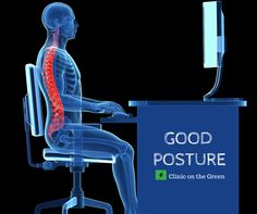 Sit Up, Look Sharp: How to Improve Your Office Posture - #Osteopathy #sportsinjuries #posture