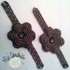 Miss Ganchillo: Flores de ganchillo para cortinas