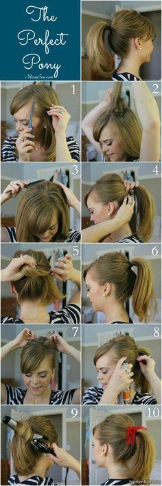 Perfect Pony hair tutorial