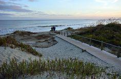 Beach access in Sullivan's Island, SC