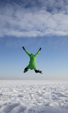 JUMP TOWARDS A NEW YEAR AND MAKE THE BEST OUT OF IT!! ©harry+lidy/plainpicture