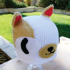 Cake the Cat Inspired Hat: Adventure Time -ish Cartoon Kawaii Handmade Crochet Beanie Hat. $34,00, via Etsy.