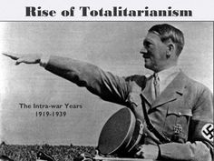 Totalitarianism and Nationalism