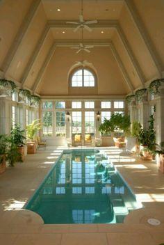 Nice inside pool!