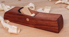 Krenov-Style Wooden Smoothing Plane Kit w/ Hock Plane-Iron