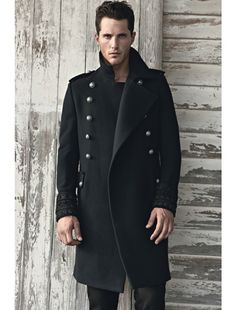 Fall Fashion Trend for Fellas - Military-inspired Outerwear. This by Balmain!